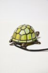 Alternate view thumbnail 3 of Stained Glass Turtle Accent Lamp