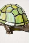 Alternate view thumbnail 5 of Stained Glass Turtle Accent Lamp
