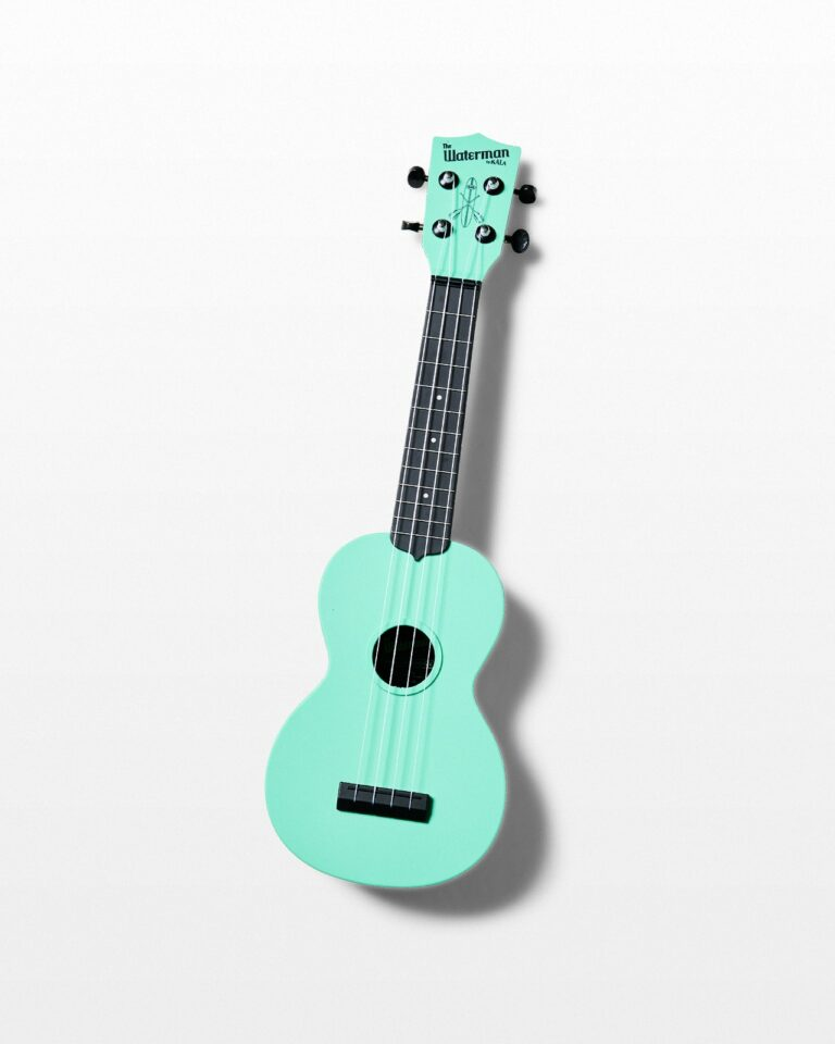 Front view of Nana Mint Ukulele