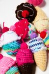 Alternate view thumbnail 2 of Crocheted Cupcakes and Ice Cream Assortment