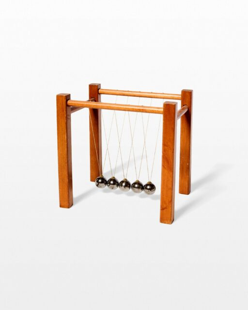 Front view of Newton's Cradle Object