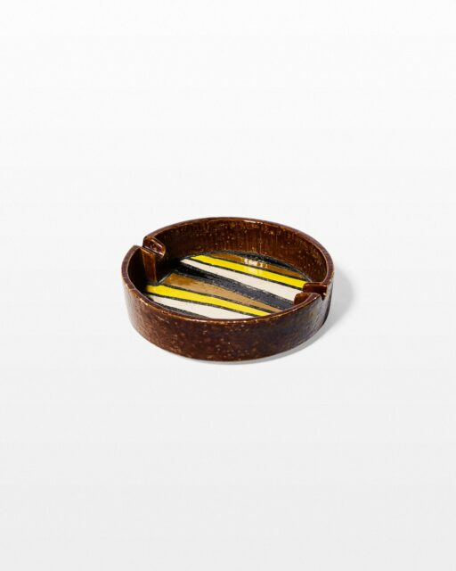 Front view of Kineta Ceramic Ashtray