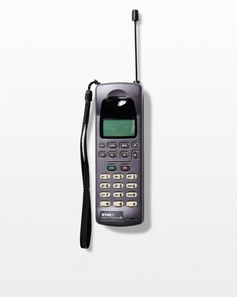 Front view of Nynex Vintage Cell Phone