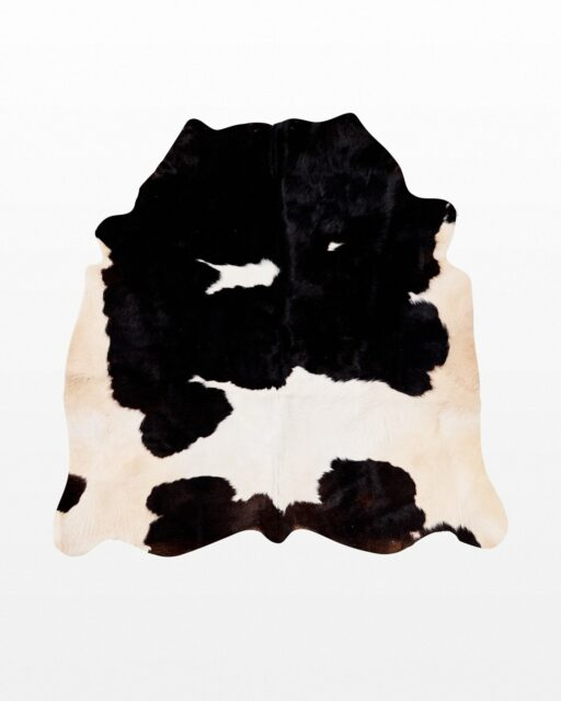 Front view of 4 Ranch Cow Hide Rug