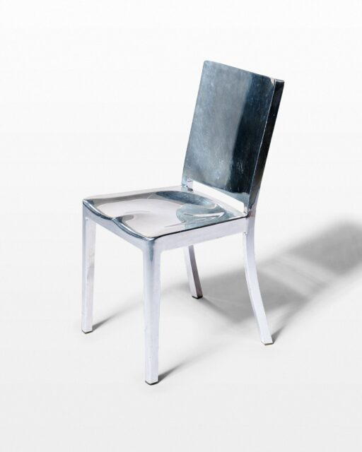 Front view of Brazil Chrome Chair
