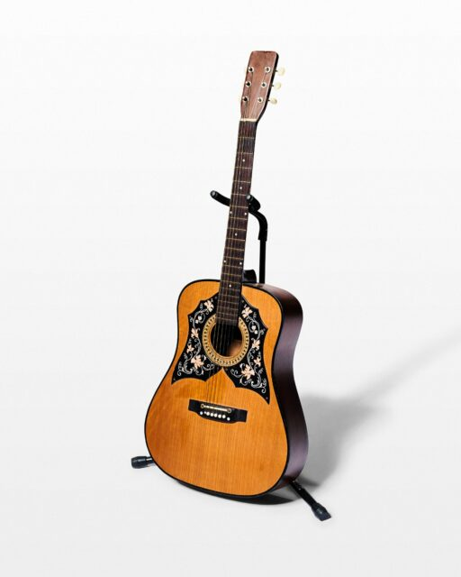 Front view of Ivy Acoustic Guitar
