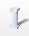 "Front view thumbnail of Herma 24"" Ionic Column"