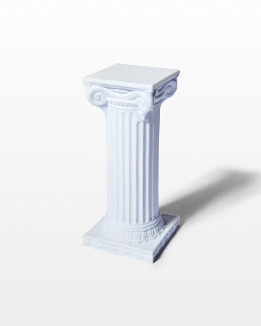 "Front view of Herma 24"" Ionic Column"