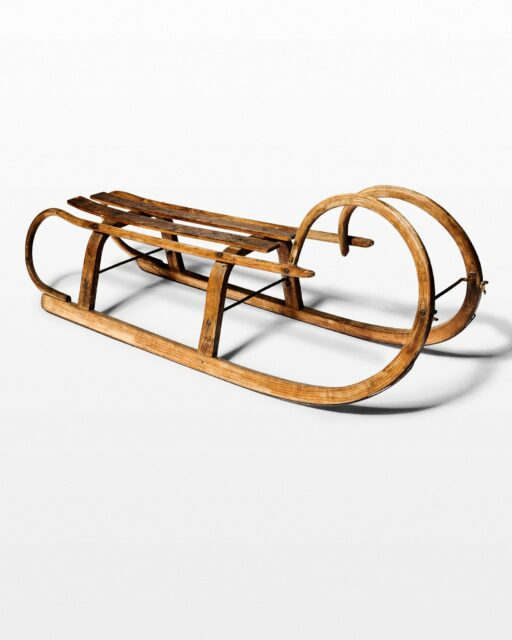 Front view of Springs Sled