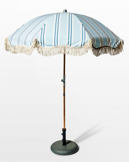 Front view of Jeremy Beach Umbrella