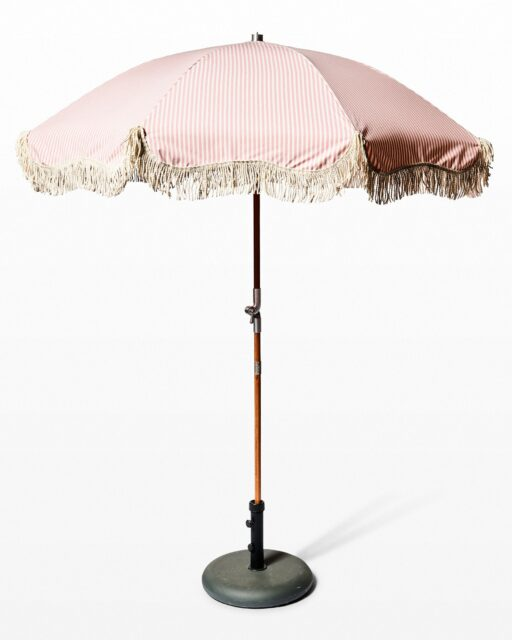 Front view of Poppy Beach Umbrella
