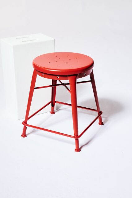 Alternate view 1 of Spade Red Stool
