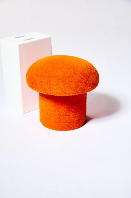 Alternate view 2 of Valley Orange Mushroom Stool