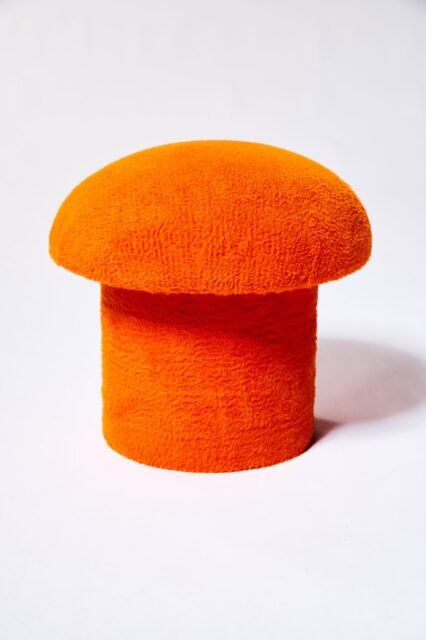 Alternate view 3 of Valley Orange Mushroom Stool