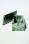 Alternate view thumbnail 2 of Cortez Green Marble Vanity Desk Set
