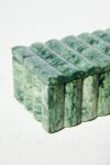 Alternate view thumbnail 3 of Cortez Green Marble Vanity Desk Set