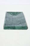 Alternate view thumbnail 4 of Cortez Green Marble Vanity Desk Set
