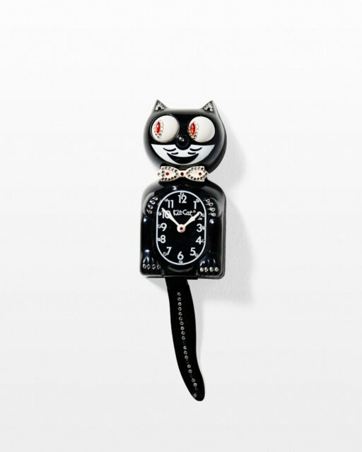 Front view of Kitty Cat Clock