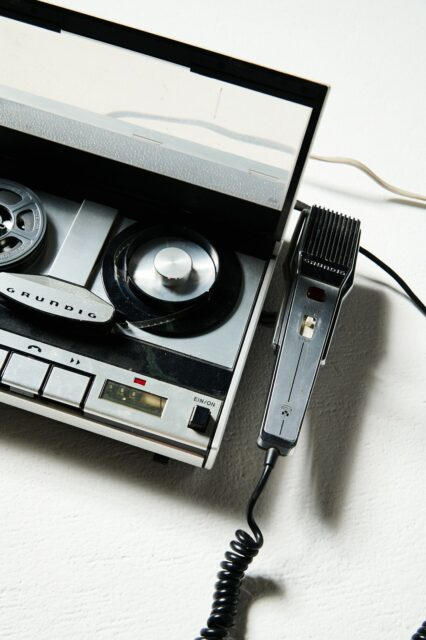 Alternate view 1 of Stanley Audio Tape Recorder