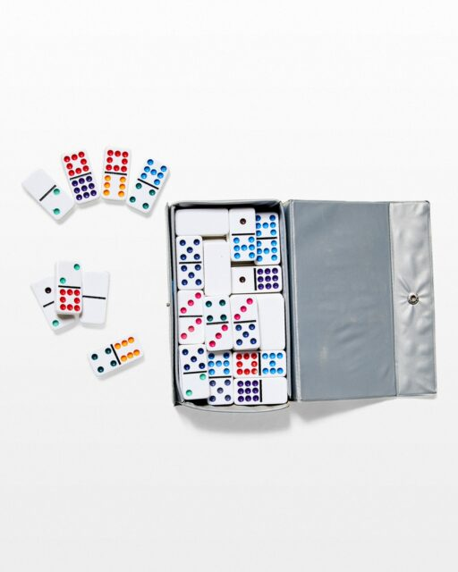 Front view of Fly Domino Set