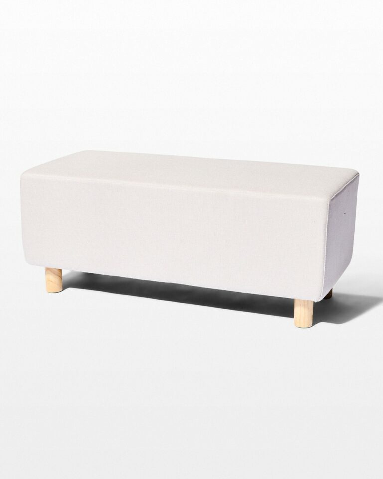Front view of Bloc Bench