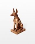 Front view thumbnail of Pharaoh Hound Statue