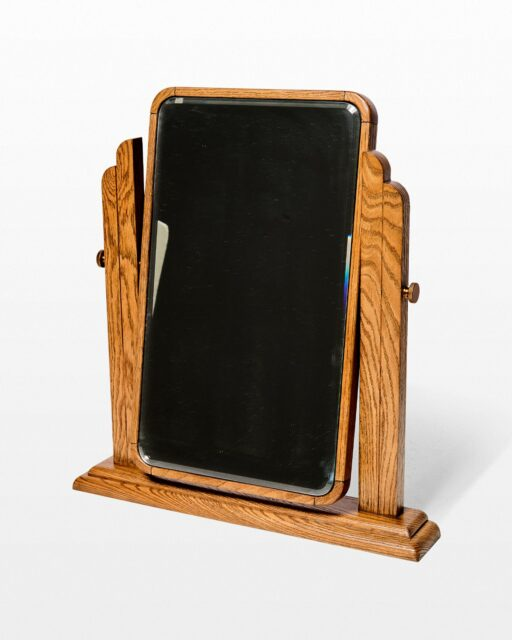 Front view of Strauss Tabletop Vanity Mirror