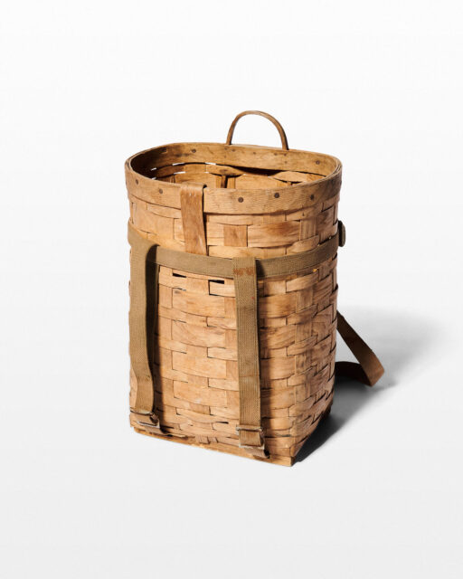 Front view of Delia Pack Basket