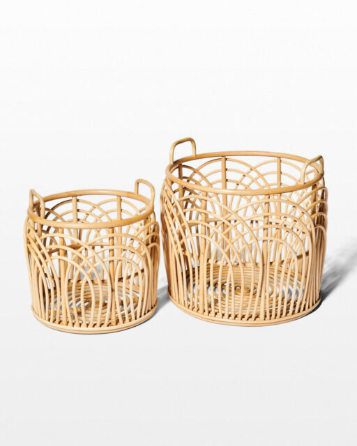 Front view of Emilia and Lee Basket Duo
