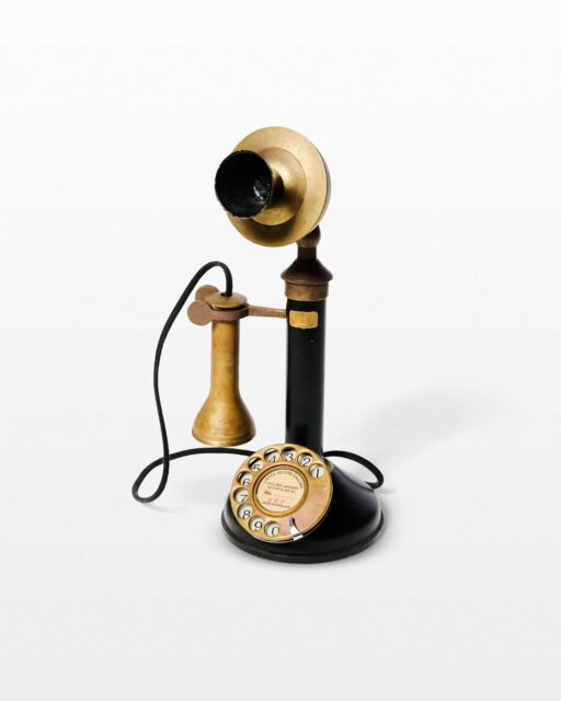 Front view of Ron Candlestick Phone