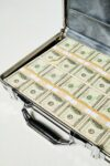 Alternate view thumbnail 2 of Briefcase Full of Faux $100 Bills