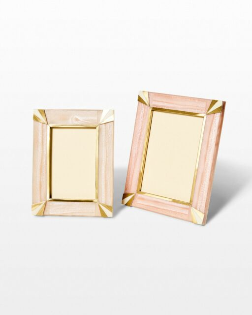 Front view of Coda Picture Frame Pair