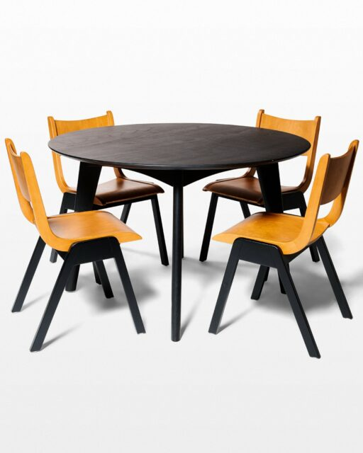 Front view of Kace and Auden Dining Set