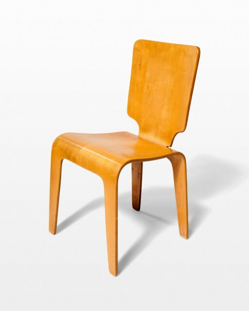 Front view of Baum Bentwood Chair