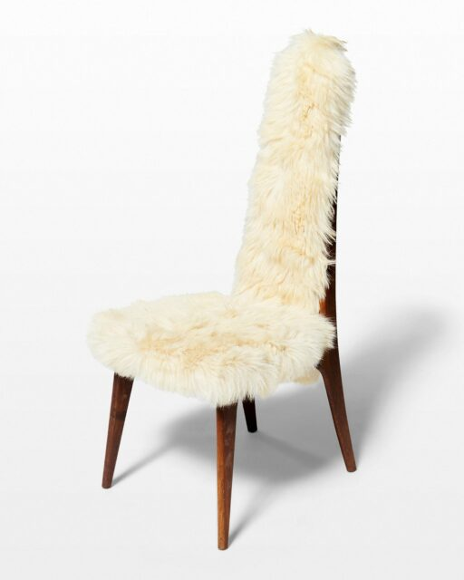 Front view of Furry Chair