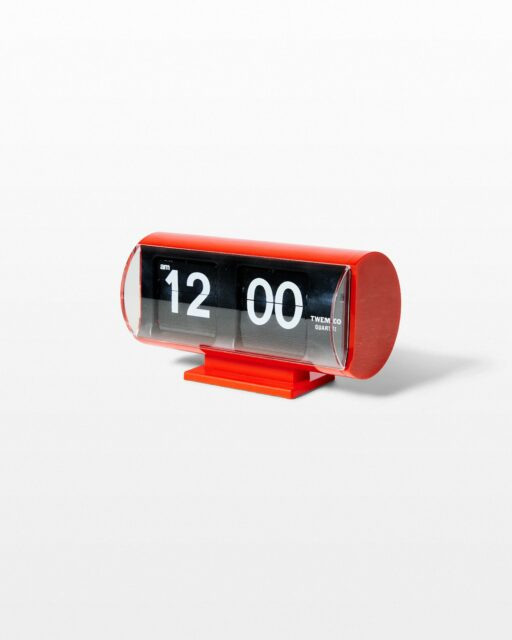 Front view of Inc Red Flip Clock