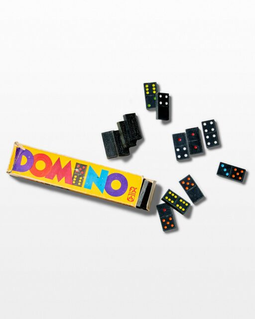 Front view of Lulu Domino Set